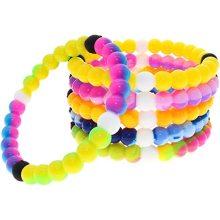 Pulseira de contas de silicone pulseiras infantis presentes pulseiras de meninas