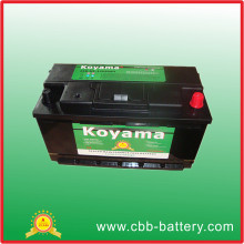 Excellent Quality 12V JIS Standard SMF Automotive Car Battery 90ah