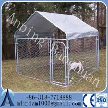 Baochuan - caja grande del acero inoxidable de la jaula del perro / jaula grande del perro / perreras grandes del perro