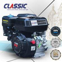Motor clásico de la gasolina de China GX160 GX200 GX210, motor del movimiento 110CC 4, motor refrigerado aire de la gasolina pequeña