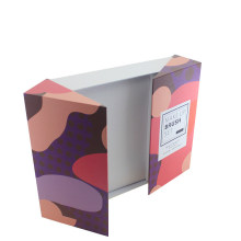 Boîte de papier se pliante adaptée aux besoins du client de jeu de pinceau de maquillage adapté aux besoins du client