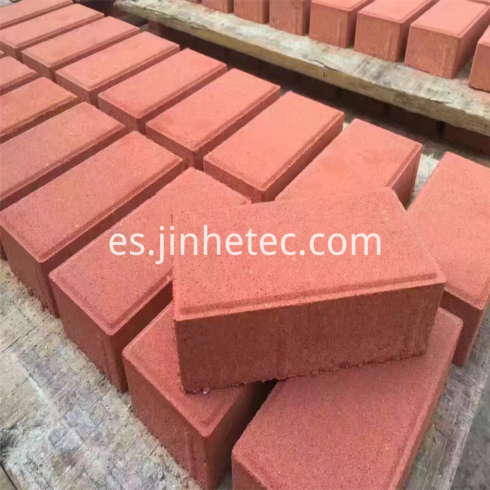 Red Iron Oxide 130 For Concrete Blocks