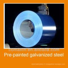 Fabricant de bobine en acier galvanisé prépeint en Chine