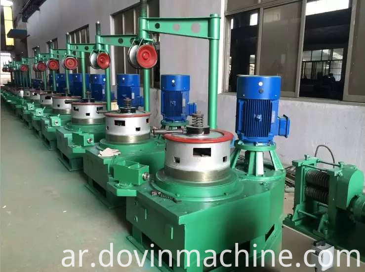 Dry Type Wire Drawing Machine