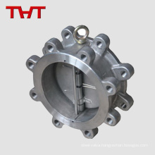 Carbon steel WCB dual plate wafer lug disco throttle check valve