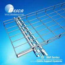 Bandeja de cable de la cesta de la malla de alambre del acero inoxidable SS316 (fábrica enumerada ISO9001)