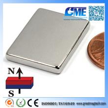Hochwertiger 25.4X19.05X6.35mm Block Neodym Magnet