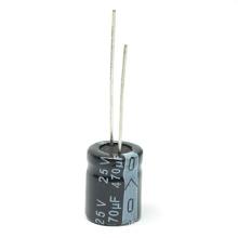6V Aluminum Electrolytic Capacitor Miniature Size Tmce12