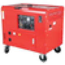 6.0-6.5kw CE certified silent diesel generator set