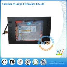 Affichage publicitaire de 10 pouces 4: 3 lcd avec détecteur de mouvement