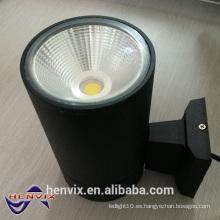 Luz de proyección de pared de exterior de 15 vatios