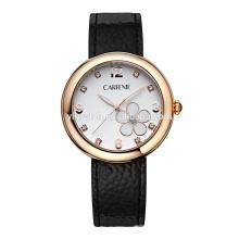 Relojes de la mujer del acero inoxidable del movimiento japonés del OEM de los proveedores de China
