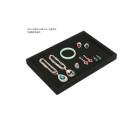 Plateau de comptoir de bijoux en vrac noir de qualité haut de gamme (TY-FT-BV)