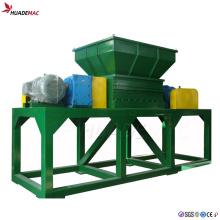Machine de concassage de déchiqueteuse en plastique