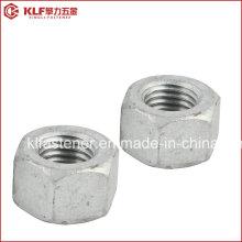 A563 Grau de um hexágono HDG (TAPPED OVERSIZE IFI)