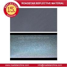 Hochglanz reflektierende PVC-Schaum Leder für Bekleidung