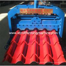 Maschine zur Herstellung von glasierten Fliesen aus Stahl