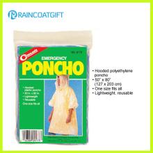 Emergencia Pocket PE Ponchos de lluvia Rpe-029