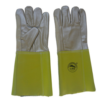Gants de sécurité en cuir à main pour le soudage à la main