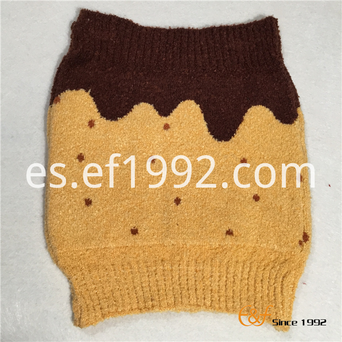 Machine Washable Jacquard Knitted Elastic Haramaki for Children