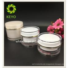 30g 100g 150g Heißer verkauf hohe qualität bilden verpackung transparent farbige leere kosmetische kunststoff glas