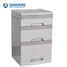 SKS008-1 тремя ящиками АБС для хранения тумбочка