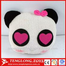 Costume fábrica bonito plush aquecedor mão para crianças