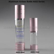 Flacon crème Airless de 15ml-50ml en aluminium