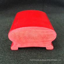La superficie lisa Hs-7343 de la barandilla del porche del PVC muchos colores disponibles interiores y el uso al aire libre