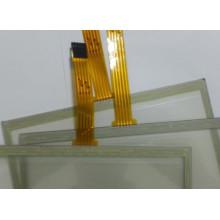 Personalizado transparente ITO vidro 5 fio resistiva touch screen