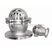 Stainless Stee Flanged Foot Valve