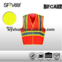 work jackets safety clothing reflective clothing safety vest with pockets conform to CSA standards