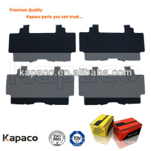 Premium quality squeal damping shim for Mercedes-Benz brake pad D1223-8343