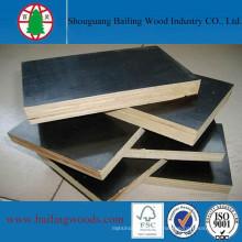 La madera contrachapada de la construcción de madera contrachapada de la película