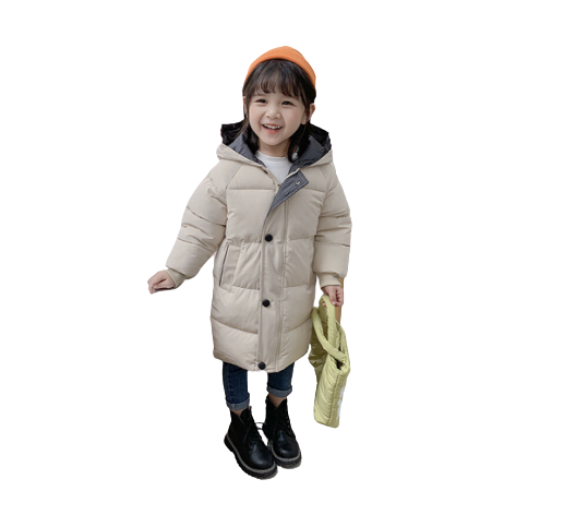 Winter Thicken Long-sleeved Coat