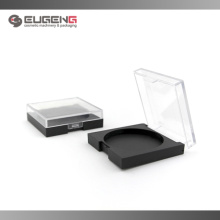 Big compact powder case with clear cap