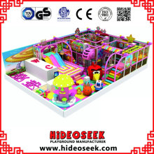 Süßigkeits-Thema-Innenspielplatz-Ausrüstung mit elektrischen Einzelteilen