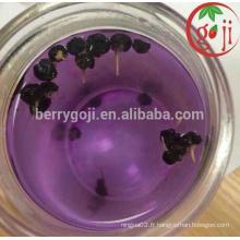 Factory Supply Concentré de jus de goji noir haute qualité
