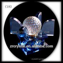 Garrafa De Perfume De Cristal Agradável C183