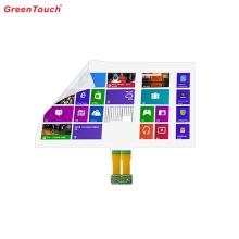 Filme transparente de folha de toque interativo de 55 polegadas