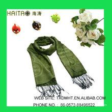 LT Green Jaquard bufandas para señoras