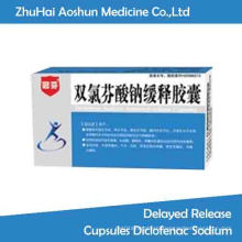 Treatment Peptic Ulcer Omeprazole Enteric-Coated Capsules