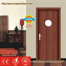 ISO and CE Certificate PVC Interior Glass Doors