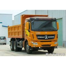 Benz used tri axle dump trucks for sale