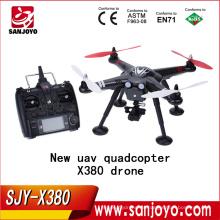 Nueva llegada XK DETECT X380 X380-C FPV GPS 1080 P HD RC Quadcopter RTF rc helicóptero con cámara vs Walkera QR X350