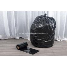 Bote de basura con soporte para bolsa de plástico