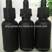 Pintando o óleo unicamente esmalhado garrafas de vidro