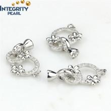 Accessoires pour bijoux Collier Fermoir Fermoir en argent sterling Fermoir Fermoir