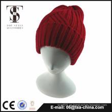 La venta caliente 2015 hizo punto la gorrita tejida, sombrero hecho punto, sombrero de la gorrita tejida