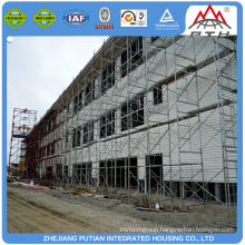 High quality modular prefab steel structure hotel units building homes for sale